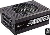 Corsair HX1200 - Fuente de Alimentación (Completamente Modular, 80 Plus Platinum, 1200 Watt, EU)