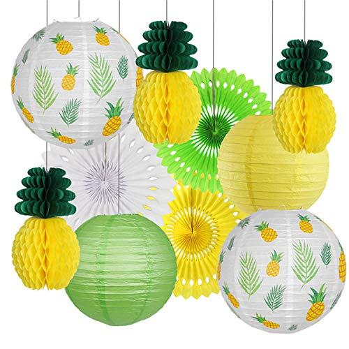 Homeland-10 piezas de tropical hawaiana kit de decoración de fiesta temática de...
