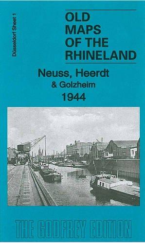 Düsseldorf Sheet 01. Neuss, Heerdt & Golzheim 1944: Old Maps of the Rhineland