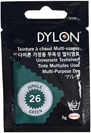 Tinte colorante para tejidos Dylon MPD Multi Purpose Dye monodosis – Bolsitas de 5 gr (Cerise 44)