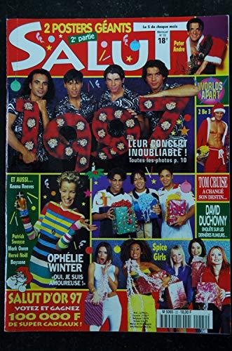 SALUT 22 DECEMBRE 1996 DAVID DUCHOVNY 2 BE 3 OPHELIE WINTER PATRICK SWAYZE + CP + POSTERS