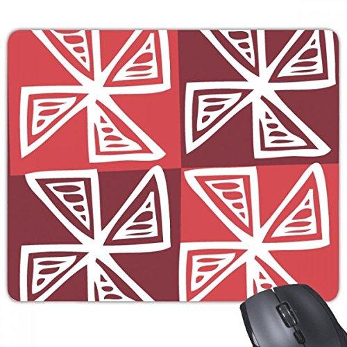 Rode molen Mexico Totems Oude beschaving tekening rechthoek anti-slip rubber muismat Game muismat Gift