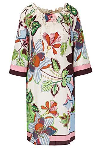 Marc Cain Additions Damen Seidenkleid Farbe cremeweiss, Größe 36