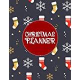 Christmas Planner: New Year Holiday Planning with Bucket List | Things To Do | Shopping Gift Checklist | Meal & Budget Organizer | Black Friday Planner | Month Calendars | black friday and cuber monday chopping planner...