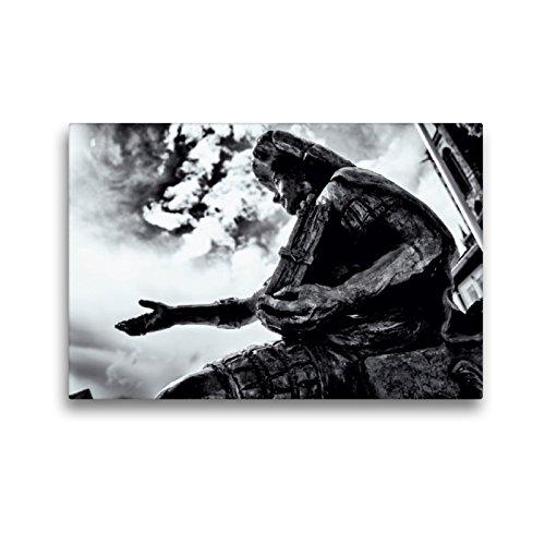 CALVENDO Premium Textil-Leinwand 45 x 30 cm Quer-Format Philipp der Großmütige, Leinwanddruck von Markus W. Lambrecht