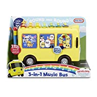 Little Baby Bum 3-in-1 Music Bus - Play & Learn - Interactive - Plays Music & Includes Tap-A-Tune Xy...