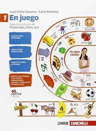 En juego-A través de la cultura hispánica. Per la Scuola media. Con espansione online [Lingua spagnola]: Vol. 1