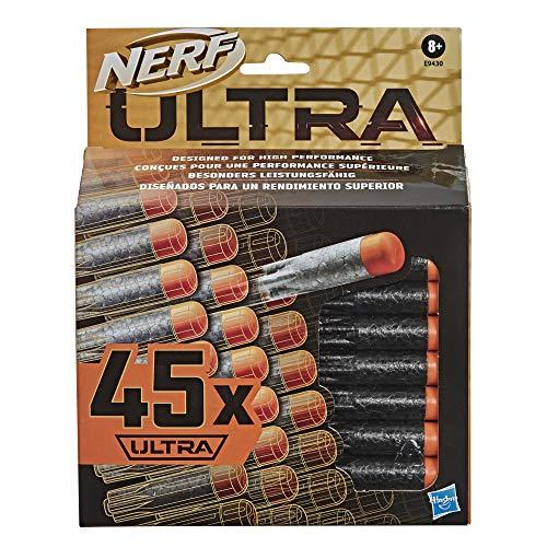 Nerf Ultra 45-Dart Nachfüllpack – der ultimative Nerf Dart Spaß – Nur mit Nerf Ultra Blastern kompatibel