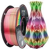 ERYONE Metallglanz Seide Regenbogen PLA Filament für 3D Drucker, 1.75mm, Toleranz: ±0.03mm, 1kg (2.2LBS)/Spool