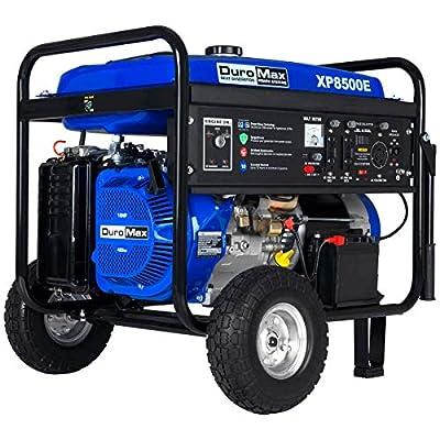 Duormax XP8500E Gas Powered 8500 Watt Electric Start Portable Generator