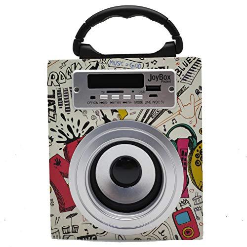 Biwond JoyBox Pocket Altavoz 5W (Bluetooth TWS, AUX, Radio FM, MicroSD, USB,...