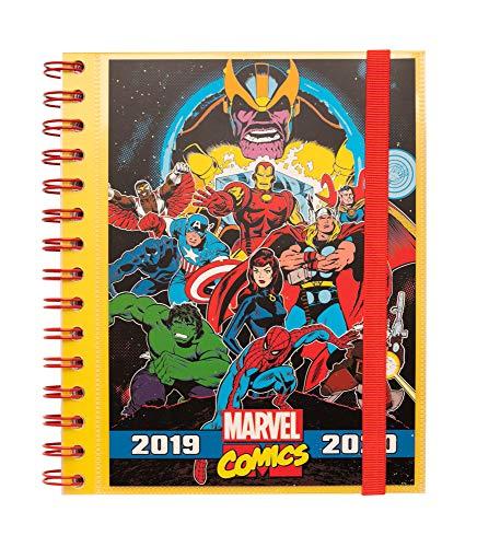 Erik® - Agenda Scolastica Settimanale 2019/2020, 10 mesi, 15,5x19 cm - Marvel Comics