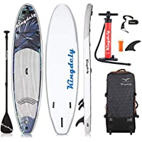 Kingdely Inflatable Stand Up Paddle Board (10'6 x 6''x 31'')
