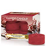 Yankee Candle candeline profumate tea light | Pan di zenzero dolce | 12 pezzi