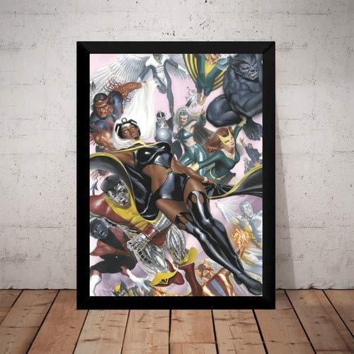 Quadro X-men Marvel Hq Arte De Alex Ross