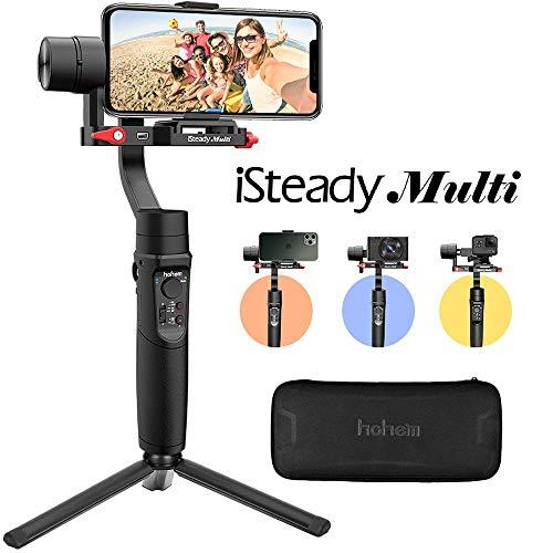 Gimbal Stabilisateur Smartphone Caméra d'action - Hohem iSteady Multi Compatible avec Gopro Hero 7/6/5/4/3,Idéal...