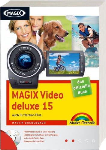 Magix Video deluxe 15 - Trialversion auf  CD: auch für Version Plus (Digital fotografieren)