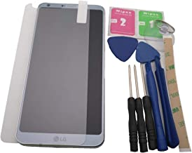 Azqqlbw for LG G6 H870 H871 H872 LS993 VS998 VS988 US997 LCD Display Screen+ Touch Panel Digitizer Assembly with Frame +Tools (Silver with Frame)