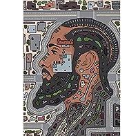 Yuuv レトロポスターキャンバス絵画ラッパーニプシーハッスルアニメポスター壁の装飾壁アート写真部屋の装飾家の装飾(23.62X31.50インチ)60X90Cmフレームなし
