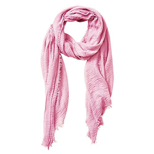 Tickled Pink Women's Lightweight Summer Insect Shield Scarf, Classic Light Pink, One Size