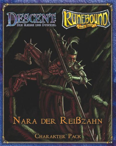 Heidelberger Spieleverlag 502 - Runebound: Nara Reißzahn