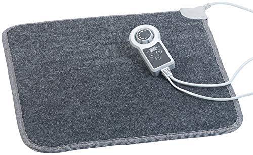 infactory Heizmatte: Beheizbare Fußboden-Matte, Vliesstoff, 50x55 cm, 60 °C, 66 W (Fussbodenmatte)