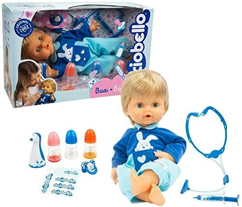 Bambolotto Cicciobello Bua con Accessori Giocattolo per Bambini Anni 3+