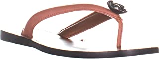 Women's Tea Rose Thong Sandal - Leather