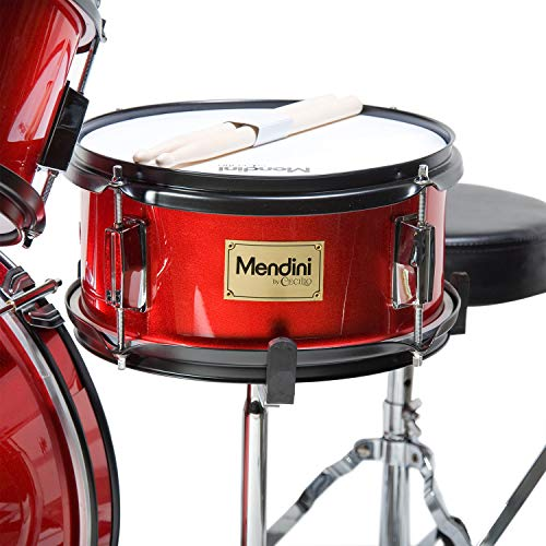 Mendini by Cecilio 16 inch 5-Piece Complete Kids/Junior Drum Set with Adjustable...