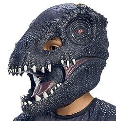 5. Rubie's Jurassic World: Fallen Kingdom Kid's Indoraptor 3/4 Mask