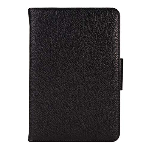 LICHONGGUI For Galaxy Tab A 8.0 / T350 2 in 1 Detachable Bluetooth Keyboard Litchi Texture Leather Case with Holder(Black) (Color : Black)