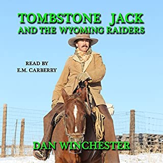 Tombstone Jack and the Wyoming Raiders audiobook cover art