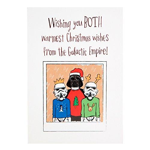 Star Wars Weihnachtskarte