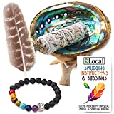 🌿 Detailed Smudging Instructions Included With Every Sage Smudge Kit (Blessings too!) 🎁 The Perfect Gift for Anyone! Smudging with White Sage is Known to Have Numerous Mental, Spiritual & Physical Benefits 💜 Absolutely Never Wild Harvested! Wild Harv...