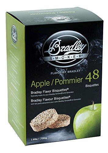 Bradley Smoker BTAP48 Apfel Bisquetten...