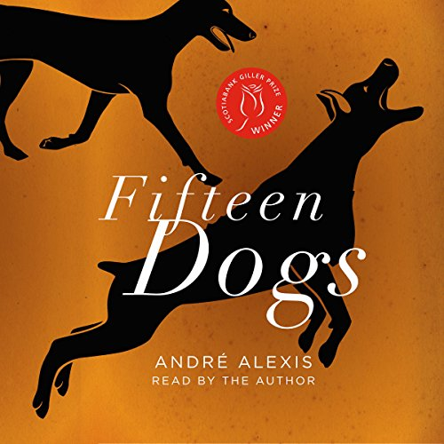 Fifteen Dogs audiobook cover art