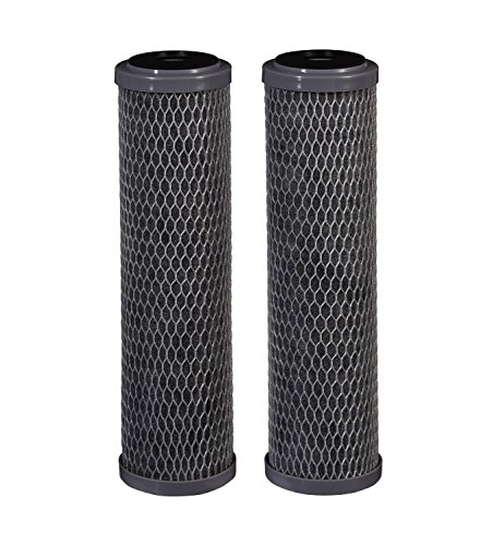 Filtrete Standard Capacity, Carbon Wrap Replacement Filter, Sump Style (Sediment, CTO), 2-Pack, Gray