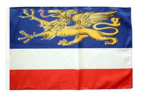 Flagge / Fahne Stadt Rostock + gratis Sticker, Flaggenfritze®