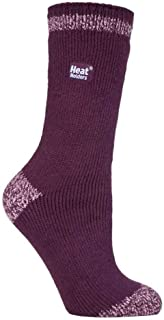 Heat Holders - Womens Thick Colourful Striped 2.3 TOG Winter Warm Thermal Socks