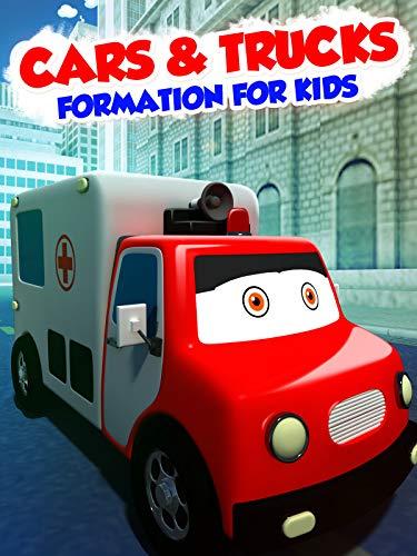 Cars & Trucks Formation For Kids