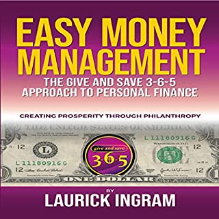 Give and Save 365 Easy Money Management Guide audiobook cover art