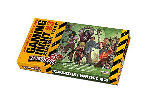 Zombicide - Gaming Night # 3 - Zombie Trap Expansion (English)
