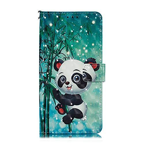 Hoesje voor Huawei Mate 20 Lite, 3D Painted PU Lederen TPU Bumper Flip Magnetisch Boek Skin Shell Telefoon Hoesje Stand Portemonnee Beschermende Cover Kaarthouder voor Huawei Mate 20 Lite