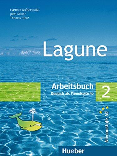 Lagune 2: Arbeitsbuch mit Audio CD