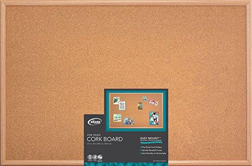 "The Board Dudes Cork Board - Canvas Tile 14 x 14"""