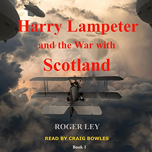 Harry Lampeter and the War with Scotland cover art
