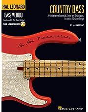 Country bass - hal leonard bass method - guitare basse - recueil + enregistrement(s) en ligne