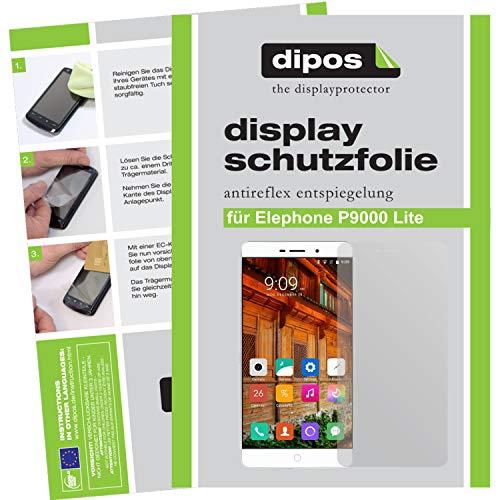 dipos I 6X Schutzfolie matt kompatibel mit Elephone P9000 Lite Folie Bildschirmschutzfolie