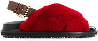 Marni Luxury Fashion Womens FBMS005801LM07200R66 Red Sandals | Fall Winter 19