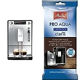 Melitta Caffeo Solo&Milk E953-102 Cafetera Superautomática con Sistema de Leche, Molinillo, 15 Bares + Pro Aqua Cartucho de...